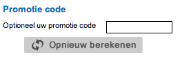 Promotiecode Franklin