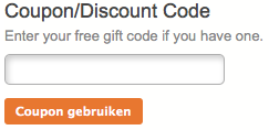 Klein en fijn couponcode