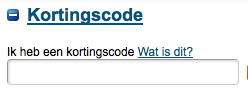 kortingscode ebookers gebruiken